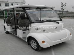 8 Personenauto van het Sightseeing van het Controlemechanisme van zetels de Elektrisch/Voertuig voor Hotel/het Dorp van de Vakantie van de Toevlucht