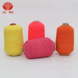 Precio al por mayor doble cubierta de goma de hilados para tejido elástico 90#/100#/110#