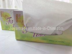 Casella di carta facciale del Virgin della carta velina di OEM/ODM della polpa 100 del tessuto su ordinazione ultra molle degli strati