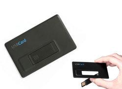 Dom Cartão de Crédito de plástico da unidade flash USB com o logotipo personalizado