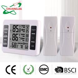 Drahtloser Innenim freiendigital-Kühlraum-Thermometer mit akustischem Signal für Gefriermaschine