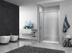 La Ige de fotograma completo de aluminio con mango de acero inoxidable de mampara de ducha cuarto de baño (WM-E-004)