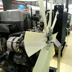 Ventilatore assiale di pala di nylon di rinforzo fibra di vetro del PAG per il motore diesel di Cummins