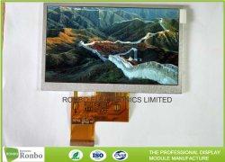 Affichage LCD industriels personnalisé RVB 40broche 480*272 5.0 pouces écran LCD pour MP4 PMP et Pocket TV