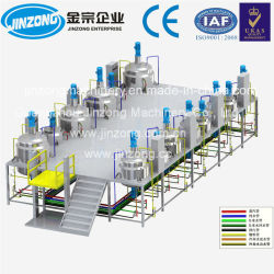 Jya Jinzong automático máquina de fabricación de champú, Champú de la línea de producción de equipos de mezcla