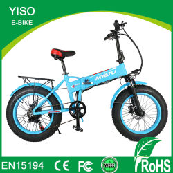 20 Inchcustom 48V preto em liga de aço as mulheres dos garfos homens bateria oculta a dobragem 4.0 Gordura bicicleta elétrica dobrável 500W bicicleta eléctrica