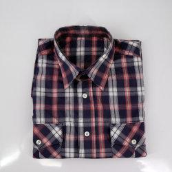 Katoenen Toevallige Overhemden voor Mensen online met Twee Zakken