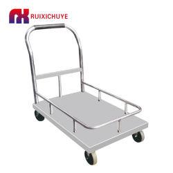 Plegable personalizable mano Carro de la plataforma de acero inoxidable 500kg de carros de carretilla de mano