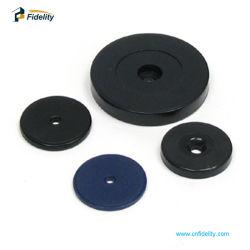 30mm LF 125KHz RFID ABS 토큰 패트롤 태그 관리