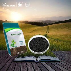 X-Humateの溶ける有機肥料の極度のカリウムのHumate 98%の薄片