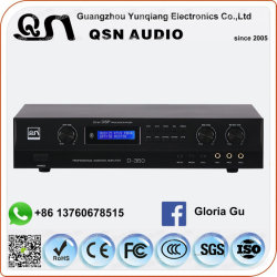 La rétroaction KTV USB Bluetooth du système de karaoké 350W de mixage numérique amplificateur Karaoke Professionnel