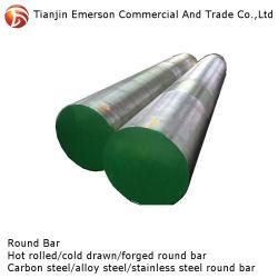 Service après-vente fiable AISI 4140 4150 4145 4142 4143 laminés à chaud Les barres rondes en acier allié forgeage