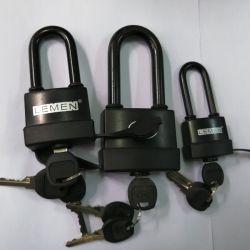 Coverd plástico impermeable de Hardware de la puerta de hierro del cilindro de Candado candado