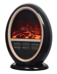 Chambre de type à boisseau sphérique mini poêle cheminée électrique Réchauffeur électrique