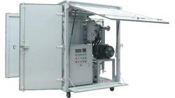 Comando PLC Série Zja Garrafa de vácuo de filtração de purificação do óleo do transformador Reciclar System