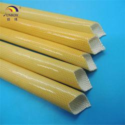 Luva de isolamento de fibra de vidro revestidos de resina de poliuretano