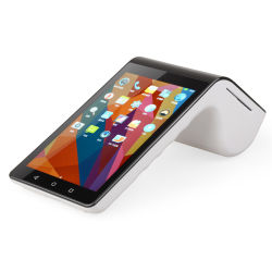 منتجات عالية التقنية 7بوصة الجهاز المحمول PT7003 Android POS كل في نظام واحد مع طابعة حرارية مباشرة مقاس 58 مم
