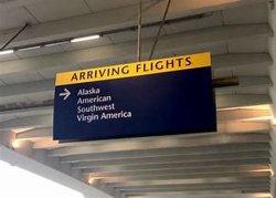 Luchthaven Wayfinding die Verlicht LEIDEN Teken voor Richting hangen