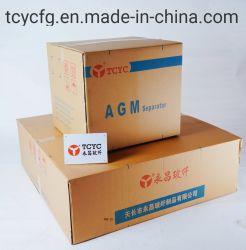 スタート・ストップ電池のためのAGMの分離器