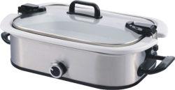 Kooktoestel van het Ontwerp 3.5qt van de uitvoer het Nieuwe Ovale Langzame met van/het Lage/Hoge/het Verwarmen Plaatsen