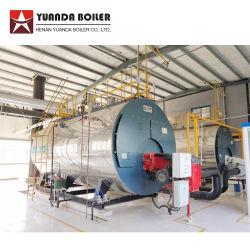 Diesel van LPG van het Aardgas van de Brandstof van Wns de Model Dubbele Oliegestookte Stoomketel van de Bunker