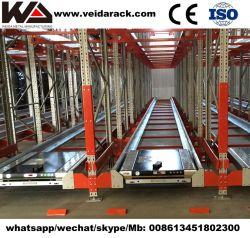Sistema di racking della spola della radio del magazzino automatizzato dei Asrs