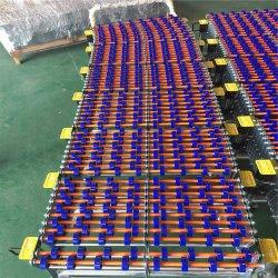 نظام ناقل مخصص غير مزود بالطاقة من الفولاذ/البلاستيك المرن بعجل