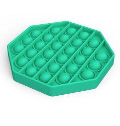 Alivio de la ansiedad de silicona calmante para el estrés autismo Toy empuje Pop Bubble Fidget juguete sensorial