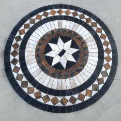 多色刷りの壁のスレートのモザイク、モザイク、クラッディングの石または建物石のための石