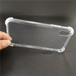 Il cristallo TPU rimuove il coperchio del telefono, cassa del telefono di 1.50mm con la protezione d'angolo quattro