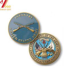 O logotipo personalizado Cor Shape Sport Medal of Honor esmalte antiga moeda