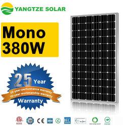 ضمان يانغتسي لمدة 25 سنة مع 360 واط، 370W، 380 واط، لوحة شمسية بقوة 390 واط، لنظام الطاقة الشمسية على السطح