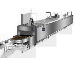 Из нержавеющей стали пекарня cookie тосты Хамбюргер используется газ непрерывная печь оборудование