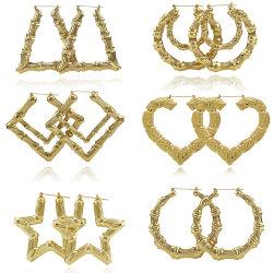 [فشيون كّسّوري] دائرة ذهبيّة كبيرة خيزرانيّ ورك جنجل مجوهرات حلول