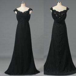 Manchon de Pac formelle en mousseline robe de soirée Longue robe de mère de la Mariée E361