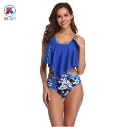 Nouveau Style Womens sexy Brésilien rembourré ensemble bikini taille haute push up creux maillot de bain Maillot de bain Vêtements de plage d'été