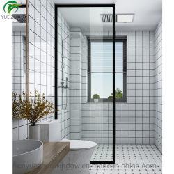 جديدة تصميم غرفة حمّام زجاجيّة أسود إطار حمام [شوور سكرين]