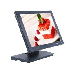 Resistente de 15 pulgadas con pantalla táctil de la base vertical del monitor POS