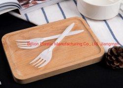 Beschikbare Vork van de Vork van de Vork pp van het snelle Voedsel de Plastic Witte
