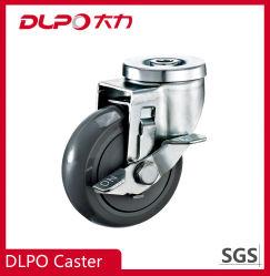 Support de roulette devoir Dlpo PP roues pivotantes avec frein