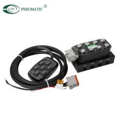 Valvola della sospensione dell'aria di Accuair Vu4 con AVS Switchbox