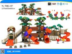 Les enfants d'Amusement Terrain de jeux extérieur en plastique Set (YL-T061-07)
