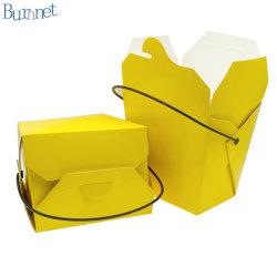 Populaire PLA-coating materiaal Disposable Food Package Box met handvat