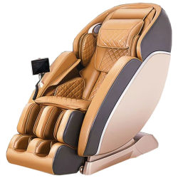 Ningde Crius C320L-14 4D Zero Gravity 6 Modes SL forme électrique voie complet du corps de chauffage de pétrissage Vibration Shiatsu FOOT SPA LUXE fauteuil de massage Relax Soins du corps