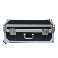 حقيبة كبيرة مخصصة لحمل الأقراص الصلبة وحقيبة نقل DJ حقيبة طيران من الألومنيوم