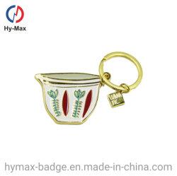 Förderung-kundenspezifische Metalschlüssel-Form Keychain