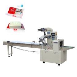 De automatische Horizontale Machine van de Verpakking van het Voedsel van Warpping van de Staaf van de Zeep van /Chocolate /Laundry van het Broodje van /Cookies /Bread van het Koekje van het Voedsel van de Stroom