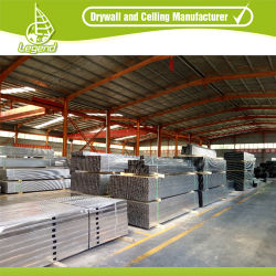 Wall Partition Galvanized drywall Metal T 및 U Type Stud 및 트랙