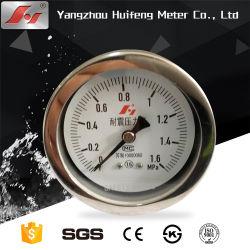 Manómetro para planta de tratamiento de agua/bomba