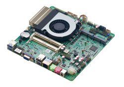I5 6287uプロセッサX86 RJ45 LAN RS232 RS485小型パソコン薄いITXマザーボード